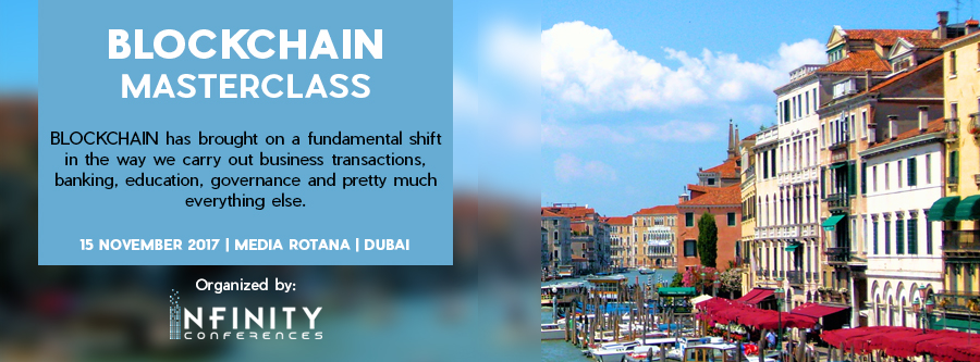 Join industry leaders, developers, and leading investors at The Blockchain MasterclassDubai